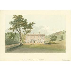Seat of Mr Broadwood, Mickleham