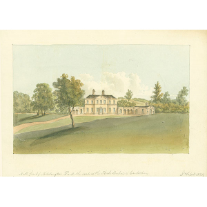 North Front of Addington Park, seat of Archbishop