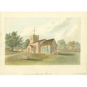 S E View of Addington Church