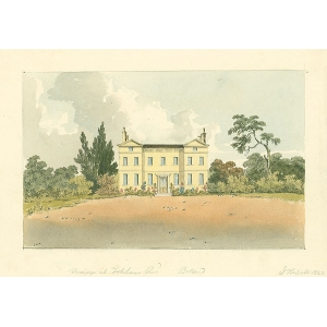 Vicarage at Fetcham, Revd Bolland
