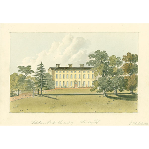 Fetcham Park, the seat of Hankey Esqr