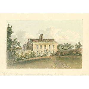 The seat of Mr Seawell, Pens Hill, Surrey