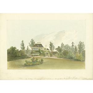 Holcombe Cottage, seat of Mrs Hibbert, Westgate