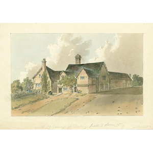 The Old Vicarage at Dorking, pulled down 1839