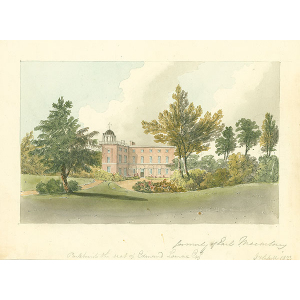 Parkhurst, the seat of Edmund Lomax