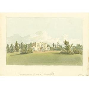 Gumshall house, seat of Lomax Esqr