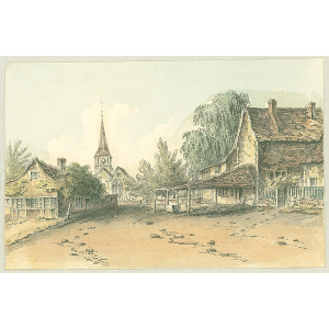 Shere Village and Church
