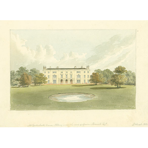 Mr Godschall's house, Albury, now seat of S[pencer] Percival