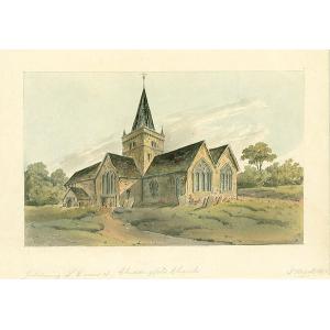 SE View of Chiddingfold Church