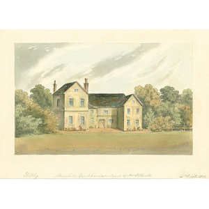 Mousehill Court house residence of Mr Stillwall