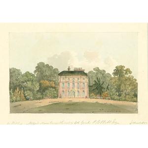 Milford Manor house, seat of Col Gauch, PB Webb Esq