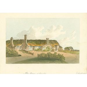 Alms houses at Compton