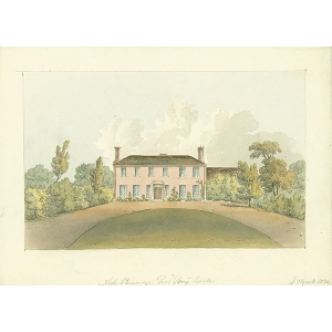Ash Parsonage, Revd Bury Lovell