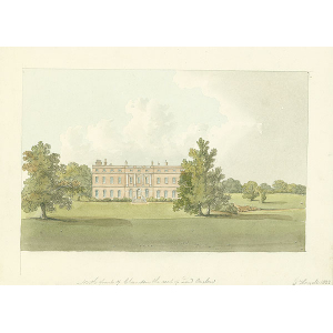 North front of Clandon, the seat of Lord Onslow
