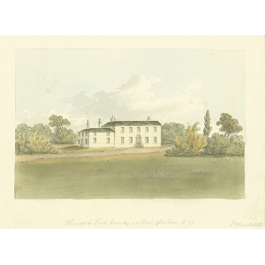 The seat of Lord Cranley at West Clandon