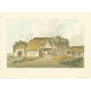 Woking Priory, west side
