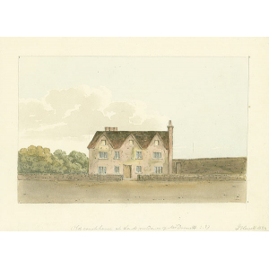 Old court house at Send, residence of Mr Drouett