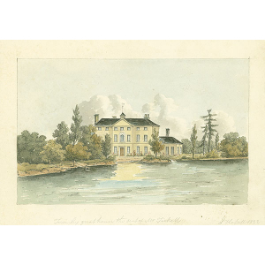 Frimley great house, the seat of Mr Tickell
