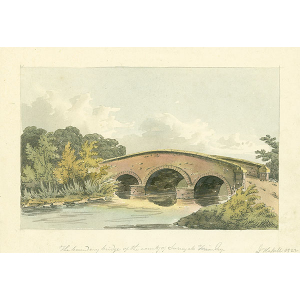 The boundary bridge of the county of Surrey at Frimley