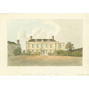 The Old Rectory at Windlesham, Revd Cooper