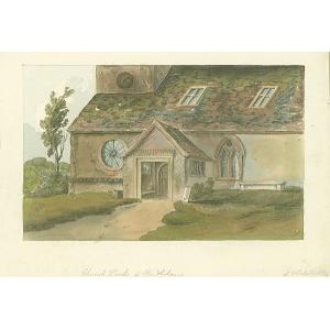 Church Porch at Windlesham
