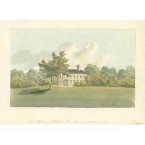 Grove Hall near Windlesham, the residence of Mrs Burt