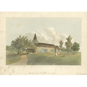 Bisley Church SW view