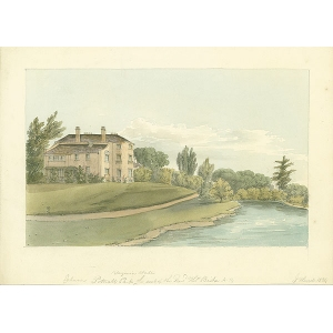 Potnall Park, Virginia Water, seat of Rev Thomas Bishe