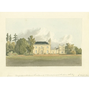 Virginia Water house, residence of Mr Turner