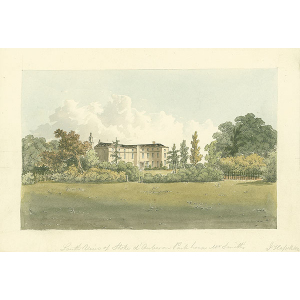 South View of Stoke d'Auberon Park house, Mr Smith's