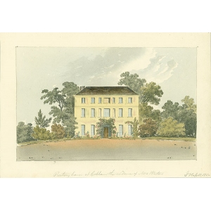 Rectory house at Cobham, residence of Mrs Weston