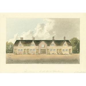 Almshouses in Castle Street, Farnham