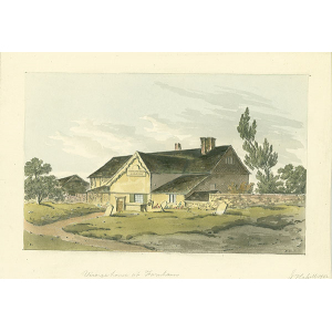 Vicarage house at Farnham