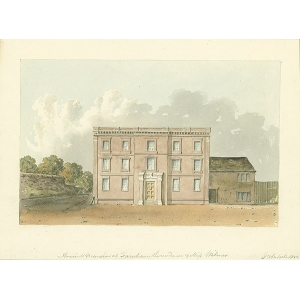 Ancient Mansion at Farnham, residence of Miss Wilmer
