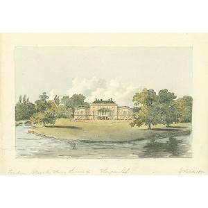 Waverley House, the seat of Thompson Esqr