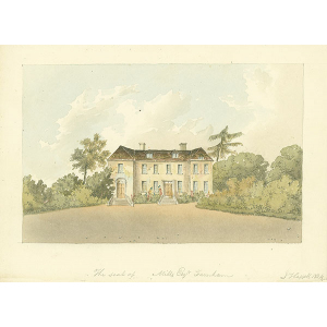 The seat of Mills Esqr, Farnham