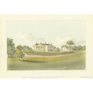 Lodge in Richmond Park, residence of Lord Sidmouth