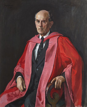 Portrait of Dr W. A. Cramond, Principal and Vice Chancellor of Stirling University