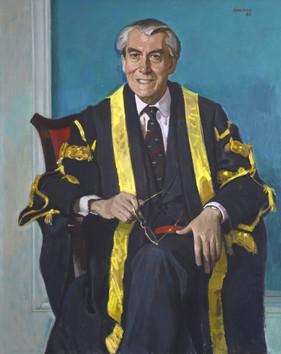Portrait of Sir Kenneth Alexander FRSE