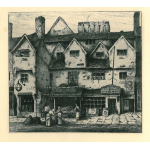 Thumbnail image for Old Houses Digbeth Walsall fom Remnants Of Old Wolverhampton (Vol.I. 1880. No.s 1-37)