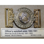 Thumbnail image for male : silver bugle and KLI; female : circlet with SHROPSHIRE LIGHT INFANTRY