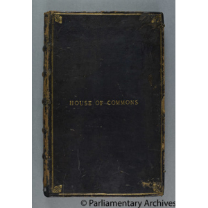 Manuscript Journal of the House of Commons ['The Torn Journal']