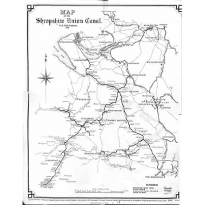Shropshire Union Canal Map Shropshire's History Advanced Search | Shropshire's History  Shropshire Union Canal Map